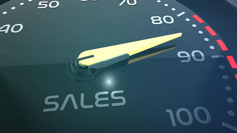 sales, teamwork, stress, performance, success, sppedometer or indicator Animation