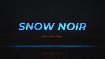 Noir Neon Intro After Effects Template