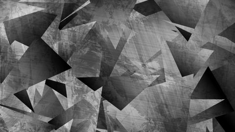 Grey grunge 3d polygonal tech video animation Animation