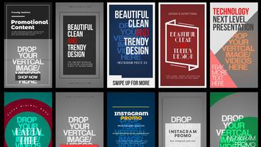 Instagram Stories V 3 After Effectsテンプレート