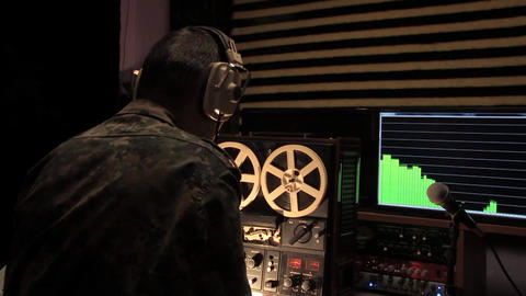 military intelligence officer produces a recording of the conversation Live Action