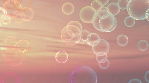Bubble ball effect Animation