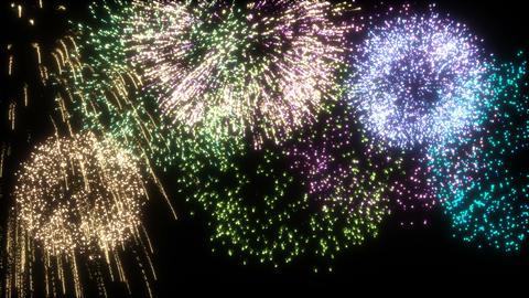 Fireworks 애니메이션