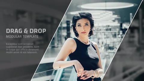Line & Square - Corporate Promo Premiere Pro Template