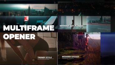 Multiframe Opener Premiere Pro Template