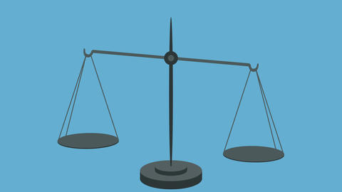Equal Weight on Scales in a Loop Vector Style ビデオ