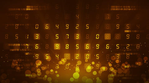 Many Numbers Background, Business CG animation, Loop Animation