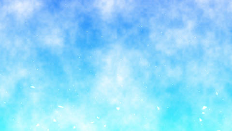 CG Material BG=002 SkyParticle Animation