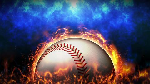 Sports Fight Backgrounds, Baseball, Loop Animation CG動画素材
