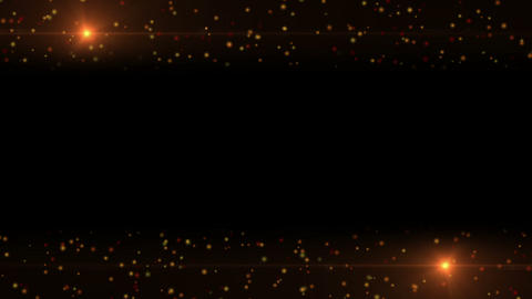 Particles Background with Lights Animation