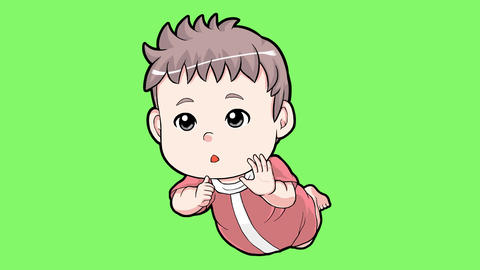 Cartoon baby Animación