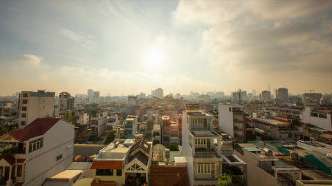 Hochiminh TimeLaps stock footage
