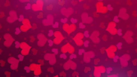 Heart ( ハート 赤 回転A ) CG動画