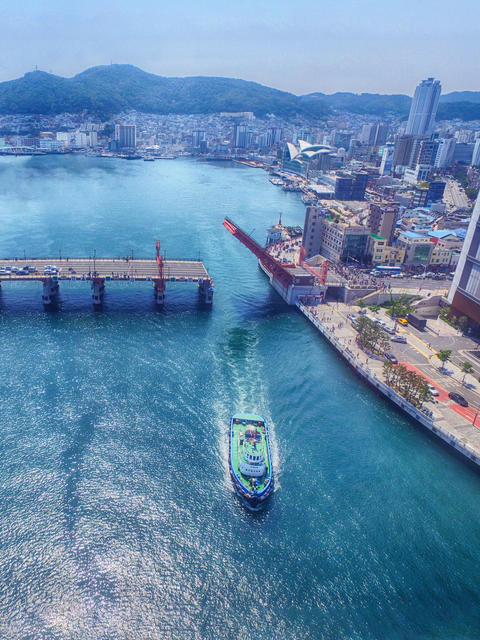 Yeongdodaegyo Bridge, Busan, South Korea, Asia フォト