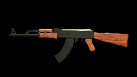 Ak47 360 Animation