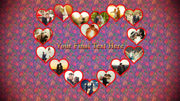 You are My Heart After Effects Template