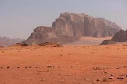 Scenic view of Wadi Rum desert, Jordan Photo