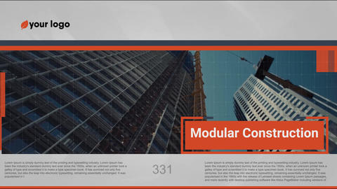 Modern Presentation - Quasar Business After Effects Template