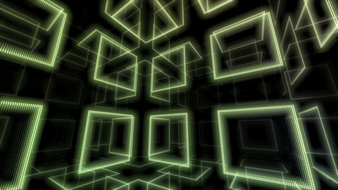 LED Room 0 B BbRD 4K CG動画