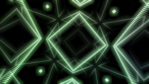 LED Room 0 D BaTB 4K CG動画