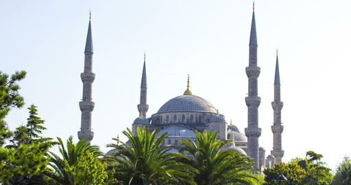 Istanbul. Sultan Ahmet Mosque, also known as Blue Mosque 영상물