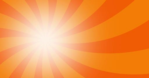 4k vintage grunge orange radial lines background. Rectangle fight stamp for card Animation