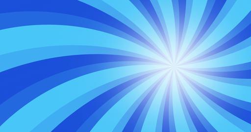 4k vintage grunge blue radial lines background. Rectangle fight stamp for card Animation