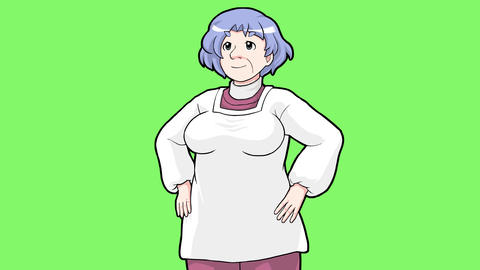 Cartoon mother Animation