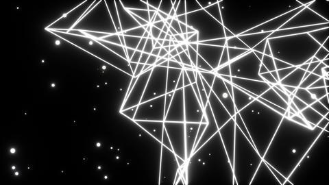 Wireframe beat_white 3 Animation