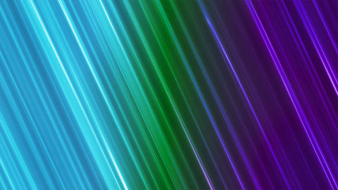 Broadcast Back Slant Hi-Tech Lines, Multi Color, Abstract, Loopable, 4K Animation
