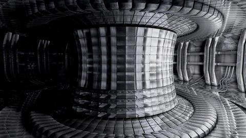 Artist recreation, Fusion reactor, Stock Animation