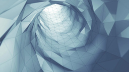 Geometric Wormhole One stock footage