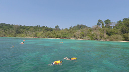amazing beach in thailand Footage