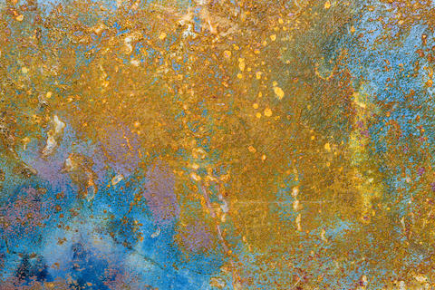 Rusted metal background Photo