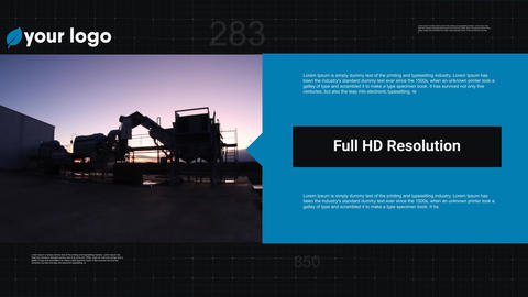 The Clean History Company - Ex Business After Effects Template