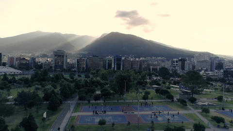 Ecuador. Quito. Drone Footage