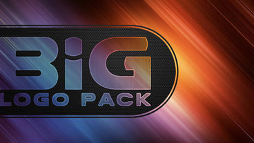 Big logo pack Apple Motion Template