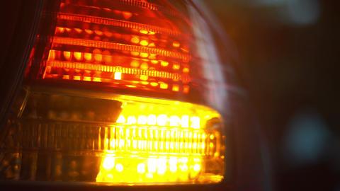 car light blinking Footage