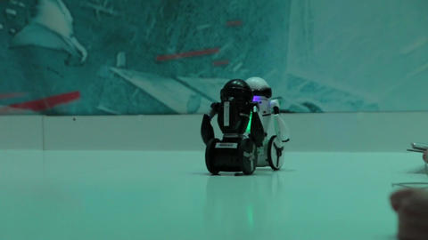 The Robots Competition Footage