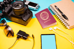 Summer photographer kit who loves to travel フォト