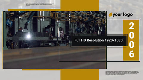 Corporate Presentation - Company About After Effects Template