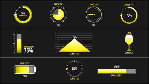 10 Percentage Infographic