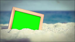 Beach Footage Green Screen HD Footage