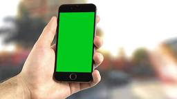 3 (Three) Corporate Mobile Chroma Key Green Screen VFXFootage Footage