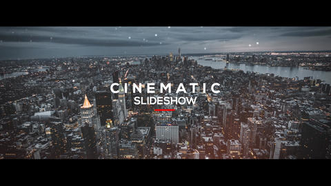 Cinematic Slideshow - Opener After Effects Template