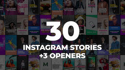 30 Instagram Stories Pack Premiere Proテンプレート