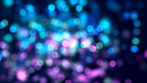 Bokeh Background Loop Animation