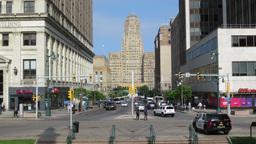 Buffalo City Hall Timelapse Tilt Up Footage