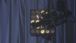 The camera in the TV Studio during the broadcast Footage