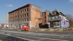 Detroit Abandoned Hotel Footage